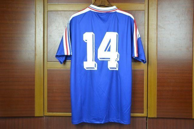 Camisas França Retrô Diversas Copas, Euro, jogadores históricos - Foto 2