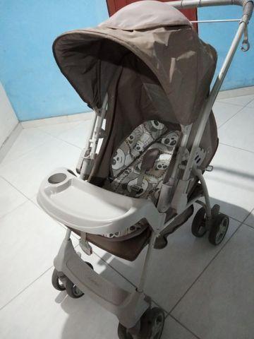Vendo carrinho de bebê Galzerano