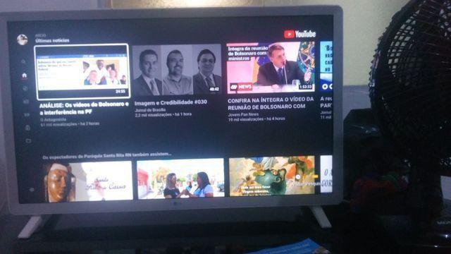 Smart TV LG super nova 32 polegada wi-fi Netflix YouTube - Foto 4
