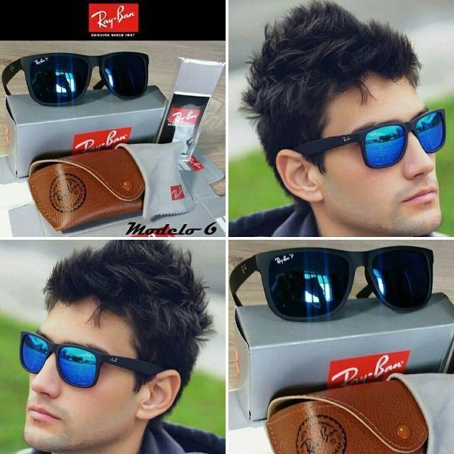 Óculos RayBan Justin 4165 100% Polarizado - Foto 6