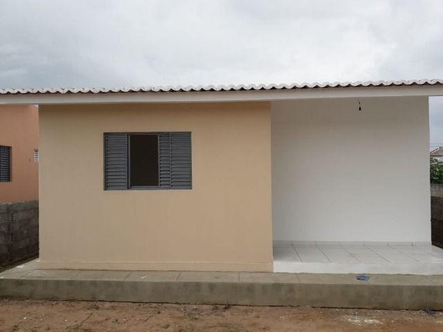 Vende-se ou troca-se por carro, uma casa nova recém construída em condomínio fechado - Foto 9