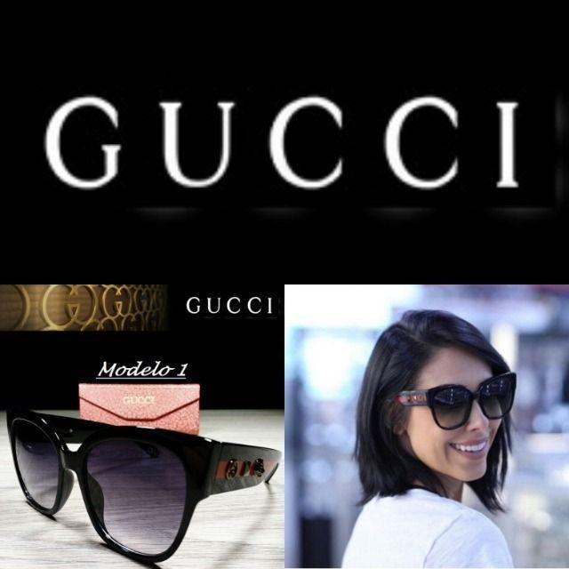 Óculos Feminino Gucci 8311 Retangular com Proteção UV