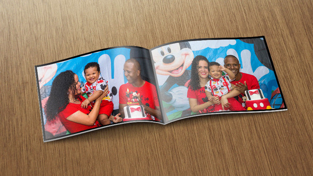 Álbum de Fotos no Fotolivro com 24 páginas