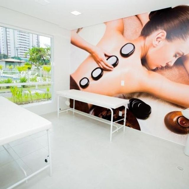Alugo apartamento 89 metros, varanda gourmet, lazer completo no Riviera - Foto 2