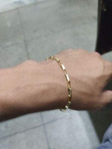 Pulseira de ouro 18 k - Foto 2
