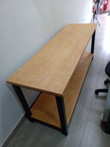 Fabricação de Mesa, Escrivaninha, Bancada Estilo Industrial - Foto 2