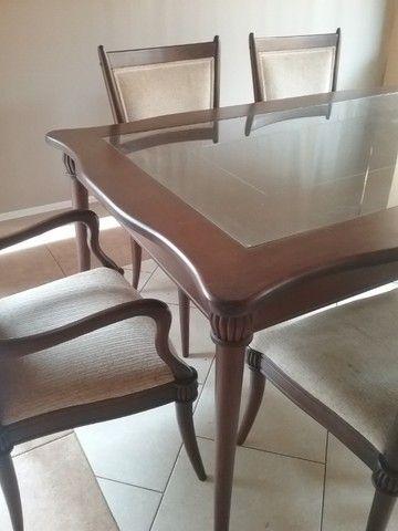 Mesa de jantar com cadeiras da linha Sierra  - Foto 2