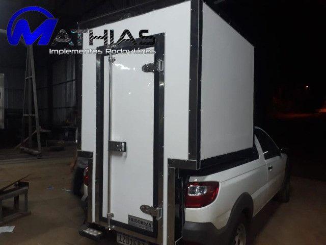 bau termico para carros pequenos saveiro,montana,s10 e outros Mathias implementos