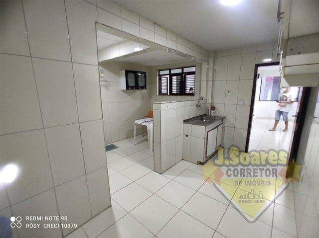 Bessa, 3 quartos, DCE, suíte, 95m², R$ 1.500 C/Cond, Aluguel, Apartamento, João Pessoa - Foto 10