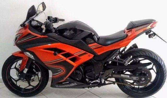 Kawasaki Ninja 300 abs 2014- Único Dono- Parcelas Baratas- Ipva Pago  - Foto 3