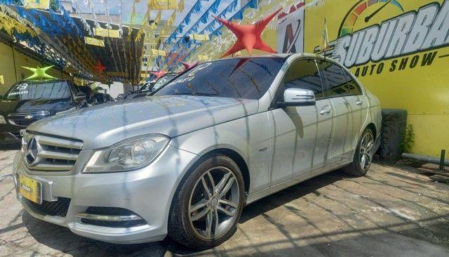 Mercedes C 180 impecável Ac.moto carro Parcelo! - Foto 2