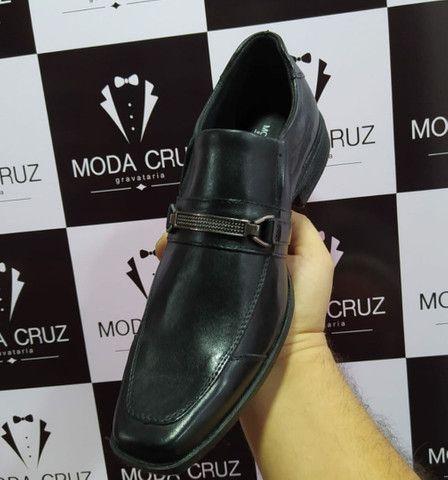 Sapatos Sociais Couro Legítimo- só na Moda Cruz