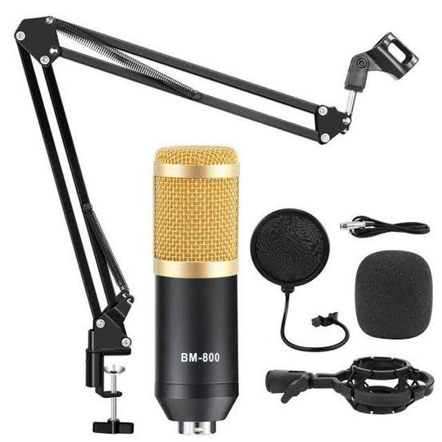 Microfone para Studio Bm800