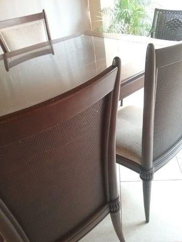 Mesa de jantar com cadeiras da linha Sierra  - Foto 3