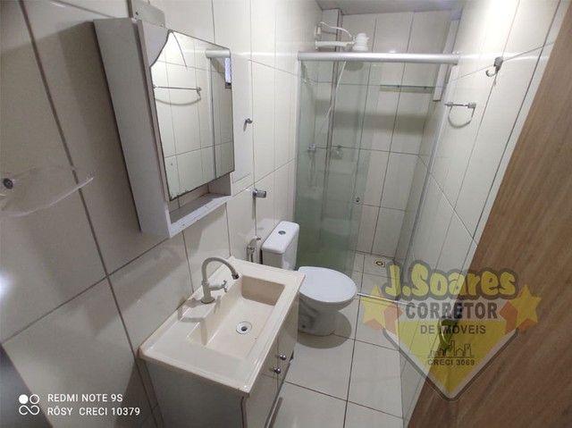 Bessa, 3 quartos, DCE, suíte, 95m², R$ 1.500 C/Cond, Aluguel, Apartamento, João Pessoa - Foto 7