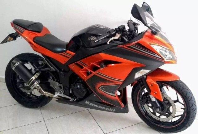 Kawasaki Ninja 300 abs 2014- Único Dono- Parcelas Baratas- Ipva Pago