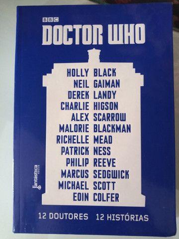 Doctor Who 12 autores 12 histórias