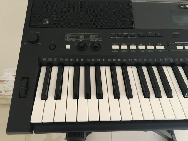 indaiatuba teclado yamaha psr e433 instrumentos. Black Bedroom Furniture Sets. Home Design Ideas