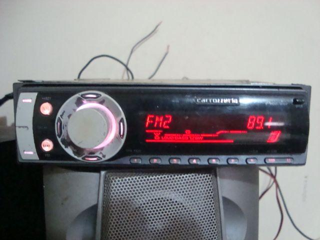 Cd Player Pioneer Carrozzeria Deh-p520