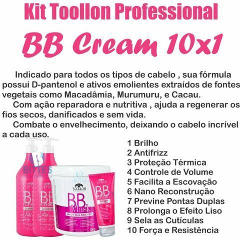 Kit BB Cream Toollon Completo com Serun Terno Ativador 200 g - Foto 3