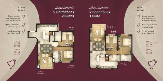 Apartamento com 2 dormitórios à venda, 86 m² por r$ 873.690,41 - bavária - gramado/rs - Foto 10
