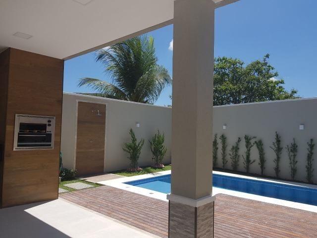 Casa duplex, 4 quartos, 5 vagas, fino acabamento e estilo, centro do Eusébio