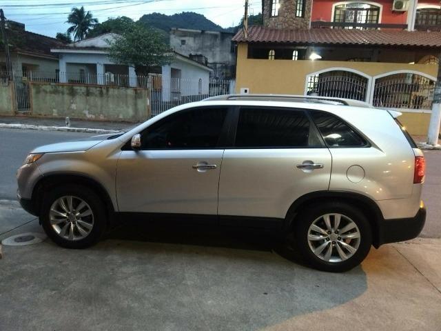 Sorento EX 3.5 V6 4WD- Top 7L - Teto panorâmico - Único DONO - Consigo financiamento- 2011 - Foto 6