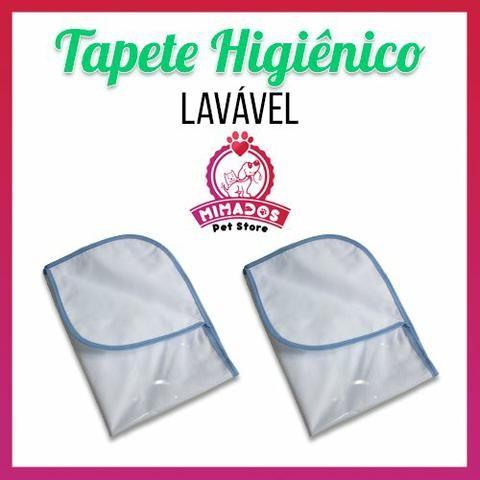 Kit 2 Tapetes Higiênicos Laváveis Pet - 70x50 cm