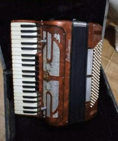Sanfona/ Accordeon paollo soprani 120 baixos 8 vozes captação nova - Foto 2