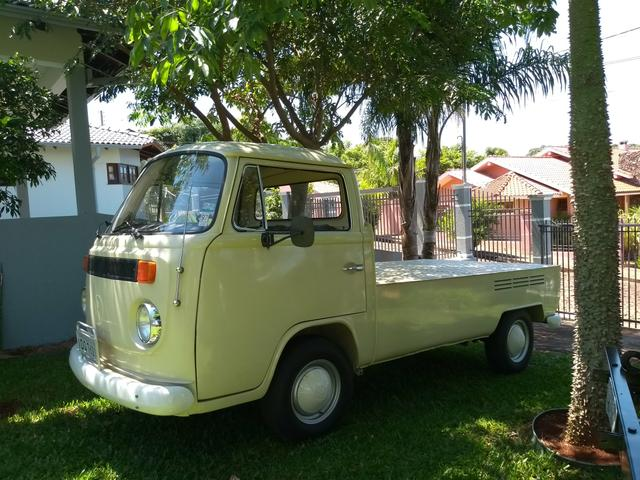 Kombi pickup 1977, único dono