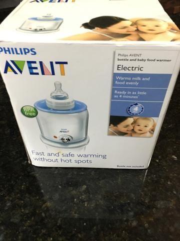 Aquecedor mamadeiras e papinhas Philips Avent