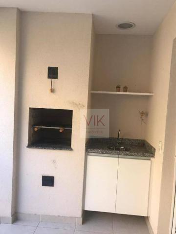 Apartamento com 2 dormitórios para alugar, 86 m² por r$ 2.400/mês - jardim ypê - paulínia/ - Foto 3