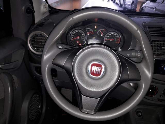 Grand siena essence 1.6 ano 2015 placa i completo roda de liga e som - Foto 10