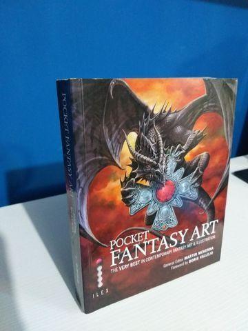 Livro Pocket Fantasy Art