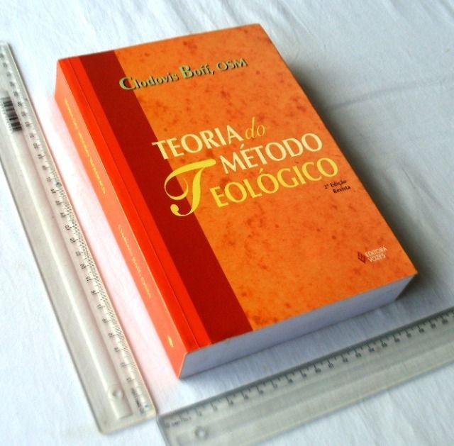 Livro Religioso - Teoria do Método Teológico - Clodovis Boff - 1999