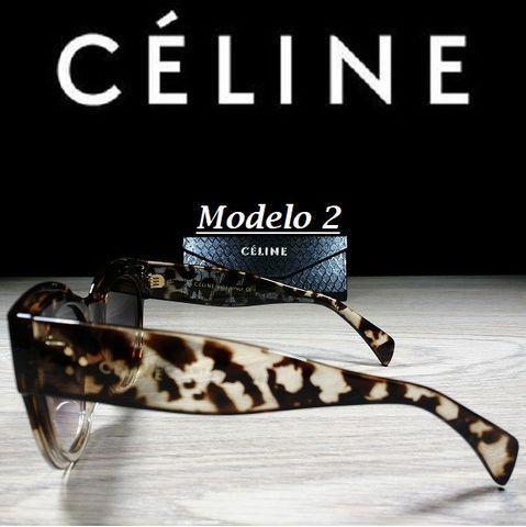 Óculos Feminino Céline Petra Redondo CL41447 com Proteção UV - Foto 4