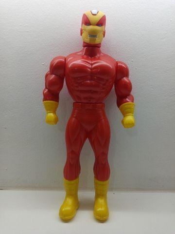 Bonecos X Neon Cyber Black Man Super Heros 41cm Plástico - Foto 5