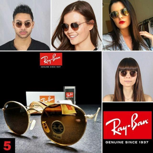 Óculos de Sol Rayban RB3447 Round com Proteção UV - Foto 5