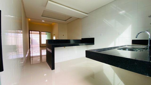 Casa Nova, Linda, Acabamento Impecável - 03Qtos, Quintal + Ampla Área Gourmet!! - Foto 7