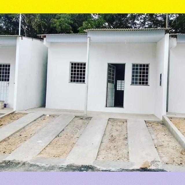 Casa Nova No Alfredo Nascimento Px Musa Pronta Pra Morar 2qrt Ac Carro qladt zqaux - Foto 7