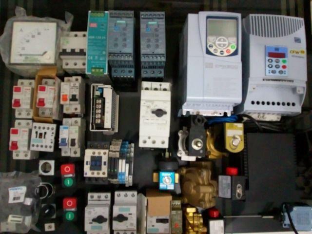 Componentes eletro-eletrônicos para comandos eletricos