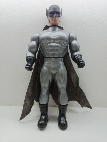 Bonecos X Neon Cyber Black Man Super Heros 41cm Plástico - Foto 6