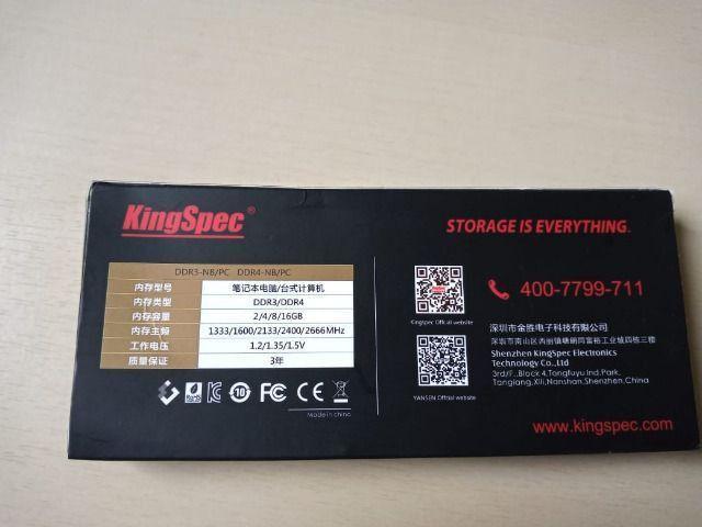 2 Memórias de Notebook DDR3 2GB 1333 mhz 10600 - Foto 4