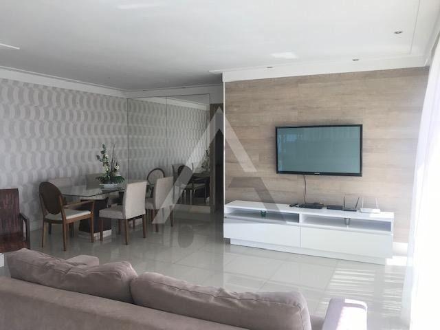 Apartamento mobiliado, nascente, andar alto 4 quartos em Patamares/Salvador-BA - Foto 2