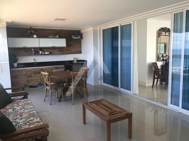 Apartamento mobiliado, nascente, andar alto 4 quartos em Patamares/Salvador-BA - Foto 4