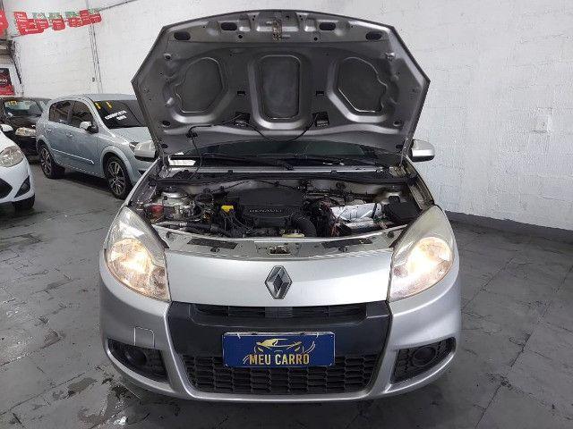 Renault Sandero 2012 Exp. 1.6 Completo + GNV - Foto 7