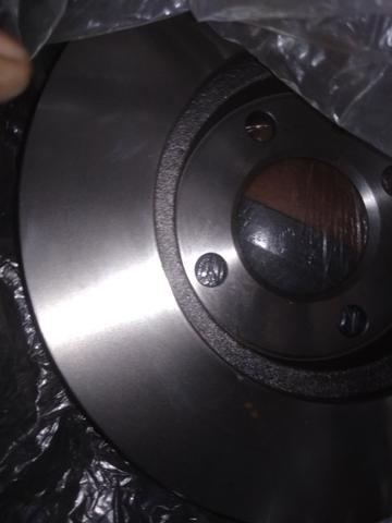 Disco de freio ventilado MDS - Foto 3