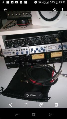 Interface de áudio