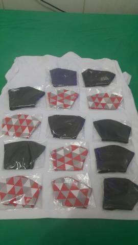 Máscaras de tricoline c/ e s/ arame - Foto 2