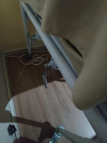 Cama reclinável com protetor e colchão massageador - Foto 5